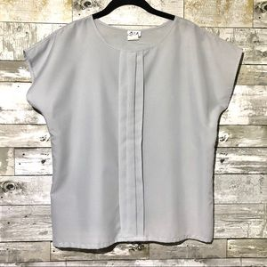 Vintage R&J blouse Soft grey Size medium